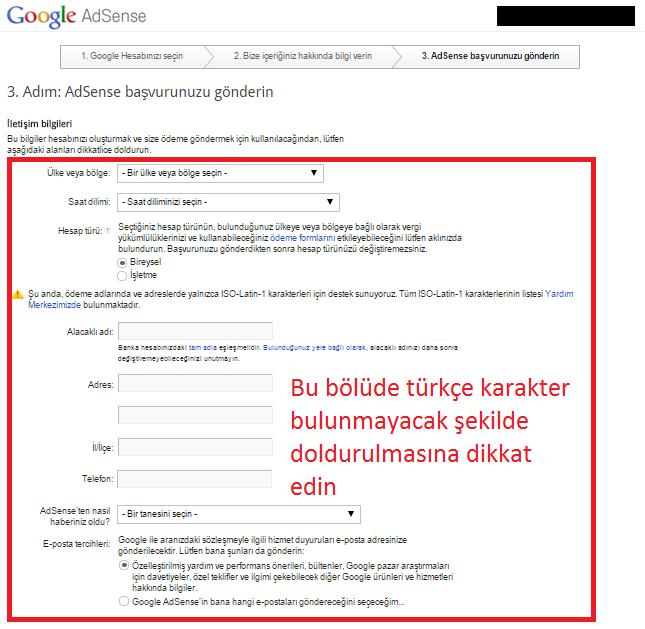 Google-adsense-son-basvuru-formu